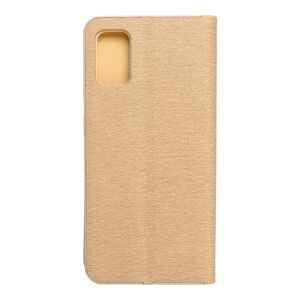 Forcell LUNA Book Gold for SAMSUNG Galaxy A41 gold