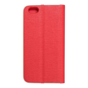 Forcell LUNA Book Gold for iPhone 6 red