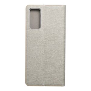 Forcell LUNA Book Gold for SAMSUNG Galaxy S20 FE / S20 FE 5G silver