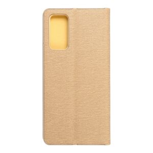 Forcell LUNA Book Gold for SAMSUNG Galaxy S20 FE / S20 FE 5G gold