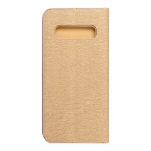 Forcell LUNA Book Gold for SAMSUNG Galaxy S10 gold