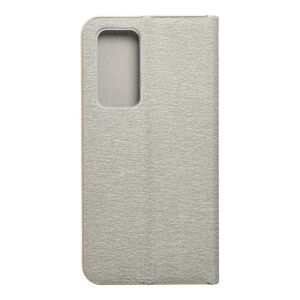 Forcell LUNA Book Gold for HUAWEI P40 silver