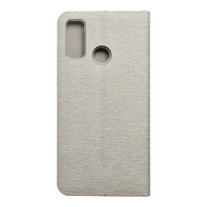Forcell LUNA Book Gold for HUAWEI P Smart 2020 silver