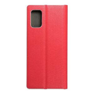 Luna Book Silver for  SAMSUNG A02s red