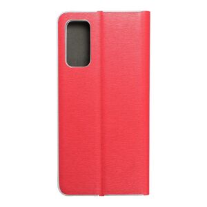 Luna Book Silver for  SAMSUNG S20 FE / S20 FE 5G red