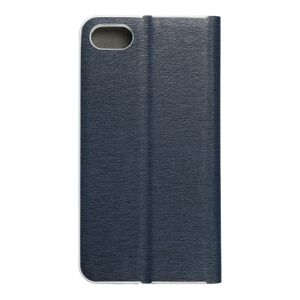 Luna Book Silver for  iPhone 7 / 8 / SE 2020 navy blue