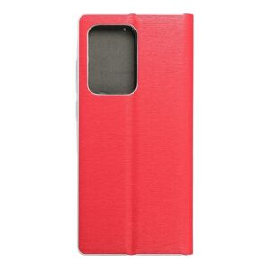 Luna Book Silver for  SAMSUNG S20 Ultra red