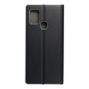 Luna Book Silver for  SAMSUNG A21s black