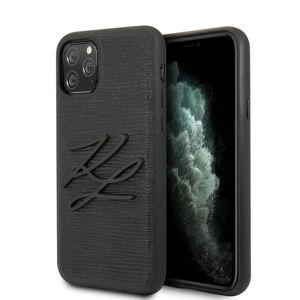Original   KARL LAGERFELD KLHCN65TJKBK iPhone 11 Pro Max černý