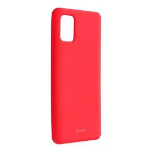 Roar Colorful Jelly Case -  Samsung Galaxy A51   hot růžový puruprový