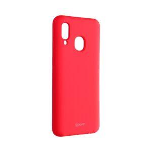 Roar Colorful Jelly Case -  Samsung Galaxy A40   hot růžový puruprový