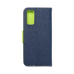 Fancy Book    Samsung S21 Plus navy/žlutý limetkový
