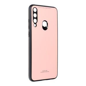 GLASS Case  Huawei Y6P růžový