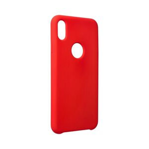 """Forcell Silicone Case  iPhone XS Max ( 6,5"""" ) červený (with hole)"""
