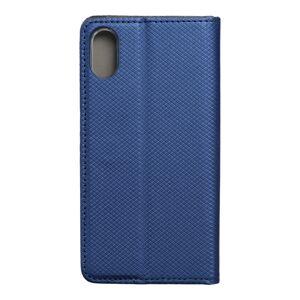 """Smart Case Book   iPhone XS (5,8"""") navy modrý"""