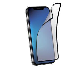 5D Hybrid ochranné sklo iPhone 12 Pro Max - s tvrzenými okraji - černé