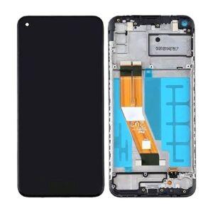 LCD Displej + Dotykové sklo Samsung Galaxy A12 A125F s rámem