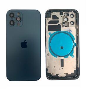 Apple iPhone 12 Pro - Zadní housing (modrý)