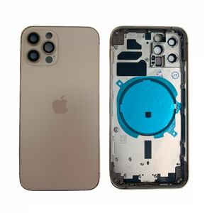 Apple iPhone 12 Pro - Zadní housing (zlatý)