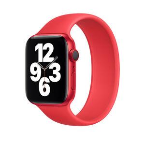 Řemínek pro Apple Watch (42/44mm) Solo Loop, velikost M - červený (PRODUCT RED)