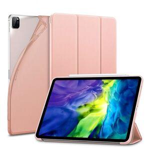 """Trifold Smart Case - kryt se stojánkem pro iPad Pro 12.9"""" 2018/ 2020/ 2021 - ružový"""