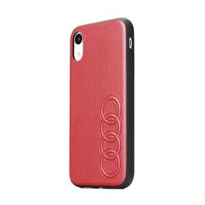 Original AUDI Leather Case AU-TPUPCS10E-TT/D1-RD Samsung S10e červený