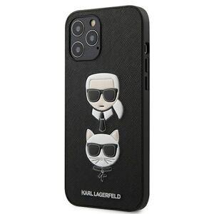 Original   KARL LAGERFELD KLHCP12LSAKICKCBK  iPhone 12 Pro Max černý