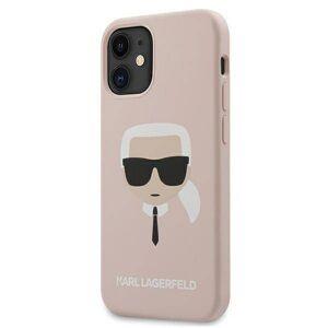 Original   KARL LAGERFELD KLHCP12SSLKHLP  iPhone 12 mini růžový