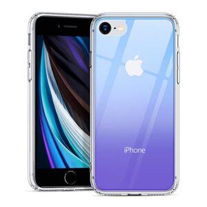 ESR Makeup Glitter   iPhone 7 / 8 / SE 2020 červený fialový