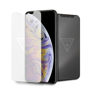 Guess Glass GUTGMI65TR  iPhone Xs Max Invisible Logo