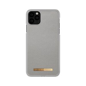 iDeal of Sweden   iPhone 11 Pro Max Saffiano Light Grey
