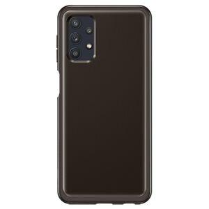 Original Soft Clear Cover EF-QA326TBEGWW Samsung Galaxy A32 5 černý blister