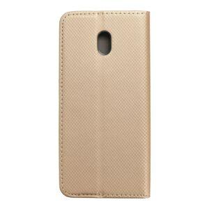 Smart Case Book   Xiaomi Redmi 8a  zlatý