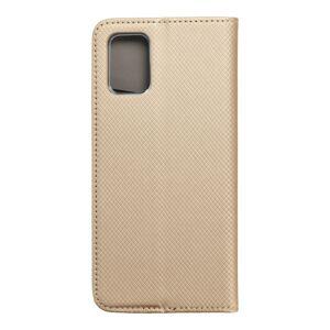Smart Case Book   Samsung A71  zlatý