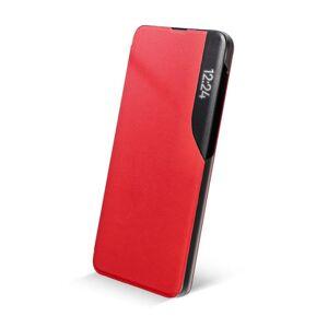 SMART VIEW MAGNET Book  Samsung S21 červený