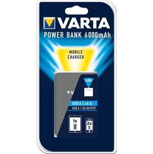 VARTA Power Bank Dual USB 6000mAh