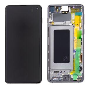 Original displej Samsung Galaxy G973 Galaxy S10 Black (Service Pack)