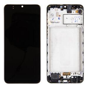 Original displej Samsung Galaxy M215F M21 Black (Service Pack)