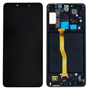 Original displej Samsung Galaxy A920 A9 2018 Black (Service Pack)