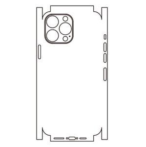 Hydrogel - zadní ochranná fólie (full cover) - iPhone 13 Pro, typ 8