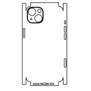 Hydrogel - zadní ochranná fólie (full cover) - iPhone 13 mini, typ 6