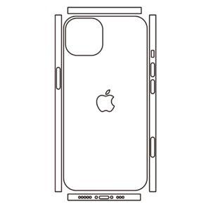 Hydrogel - zadní ochranná fólie (full cover) - iPhone 13 mini, typ 7