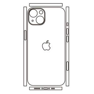 Hydrogel - zadní ochranná fólie (full cover) - iPhone 13 mini, typ 8