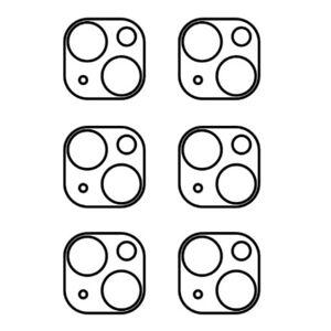 Hydrogel - ochranná fólie zadní kamery - iPhone 13 mini - 6ks v balení